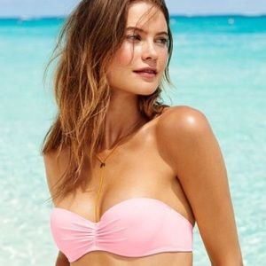 Victoria's Secret Push Up Bandeau Bikini Top 36B💖